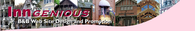 Inngenious B&B Web Site Promotion